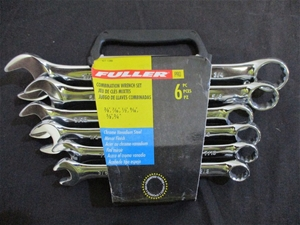 Qty 5 x Fuller Pro 6pc Combination Wrenc