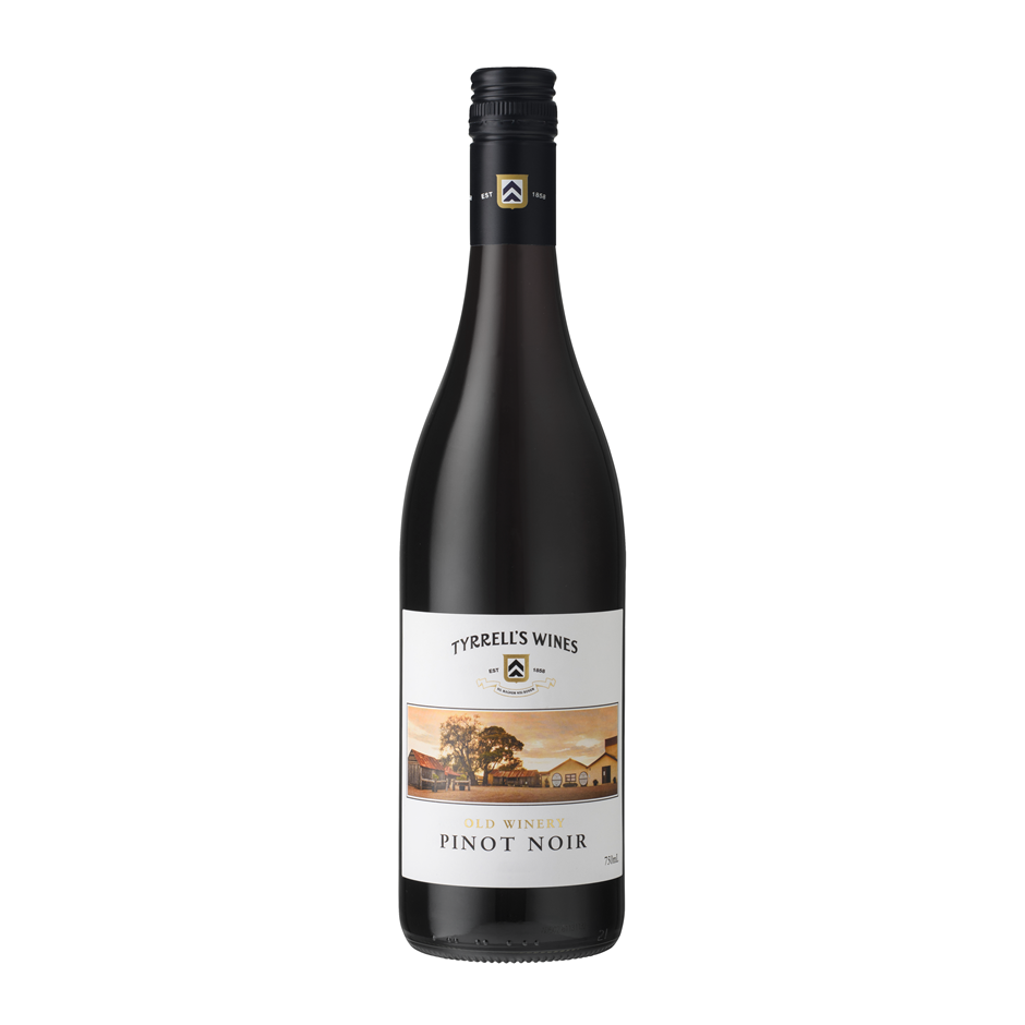 Tyrrells Old Winery Pinot Noir 2018 (12x 750mL).