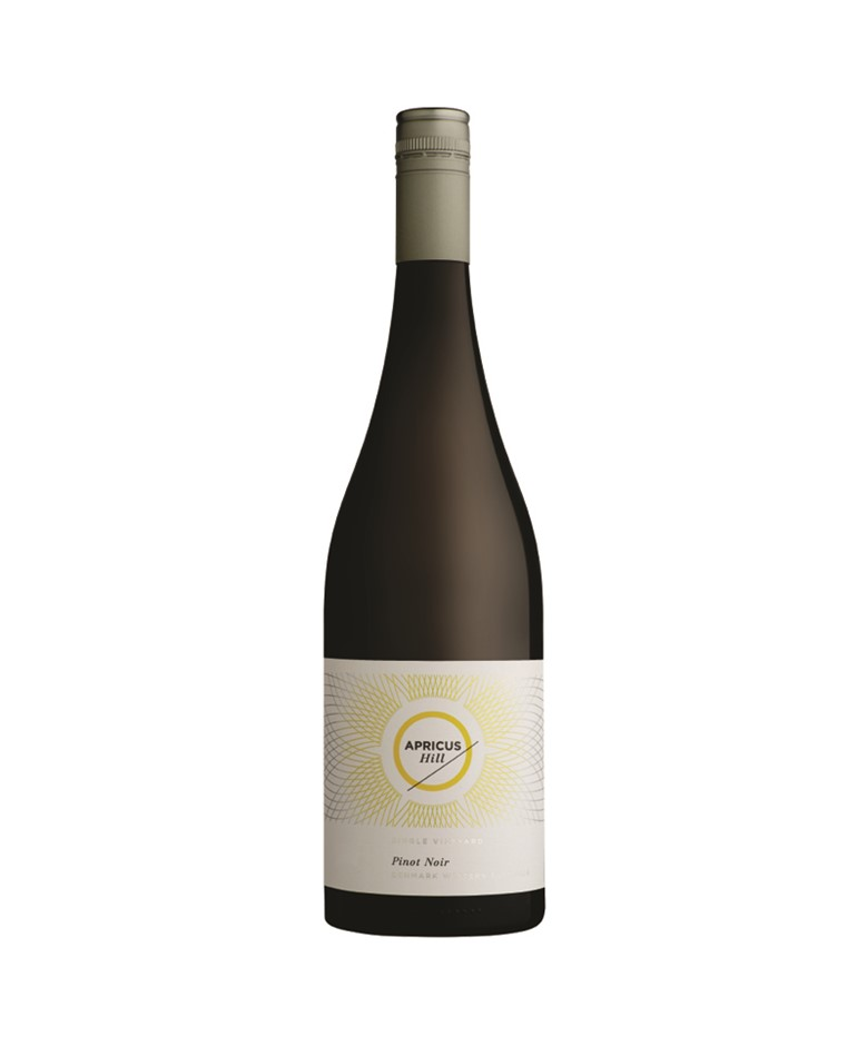 Apricus Hill Pinot Noir 2018 (6x 750mL), WA. Screwcap