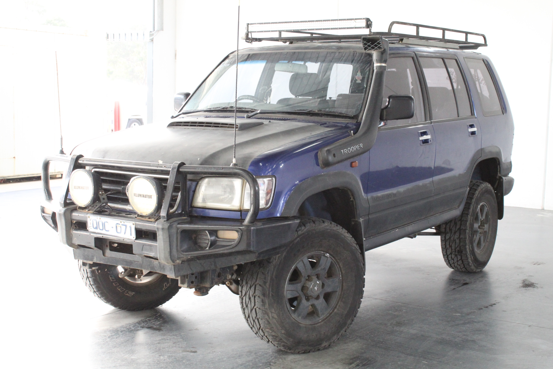 2000 Holden Jackaroo Se Lwb 4x4 Automatic 7 Seats Wagon Auction 0001 3464374 Graysonline Australia