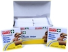 50 x Packs of 10pc Sheer Plastic Strips. Buyers Note - Discount Freight Rat