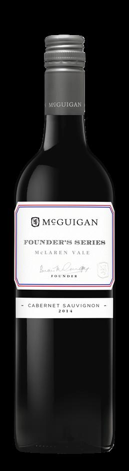 McGuigan Founders Cabernet Sauvignon 2015 (6 x 750mL) McLaren Vale, SA