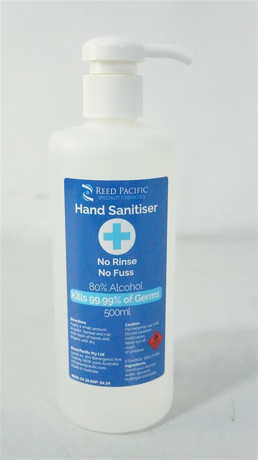 Reed Pacific Hand Sanitiser TGA 0420