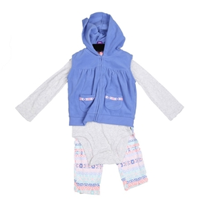 2 x CARTER`S Girl`s 3pc Winter Clothing