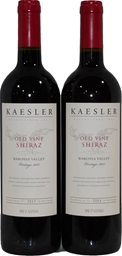 Kaesler Wines Old Vine Shiraz 2013 (2x 750mL), Barossa Valley