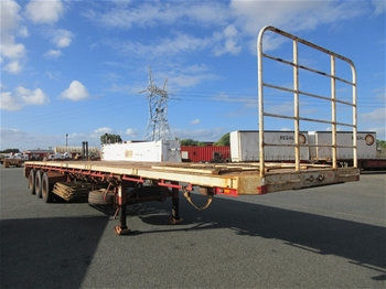 Tri Axle Flat Top Trailers