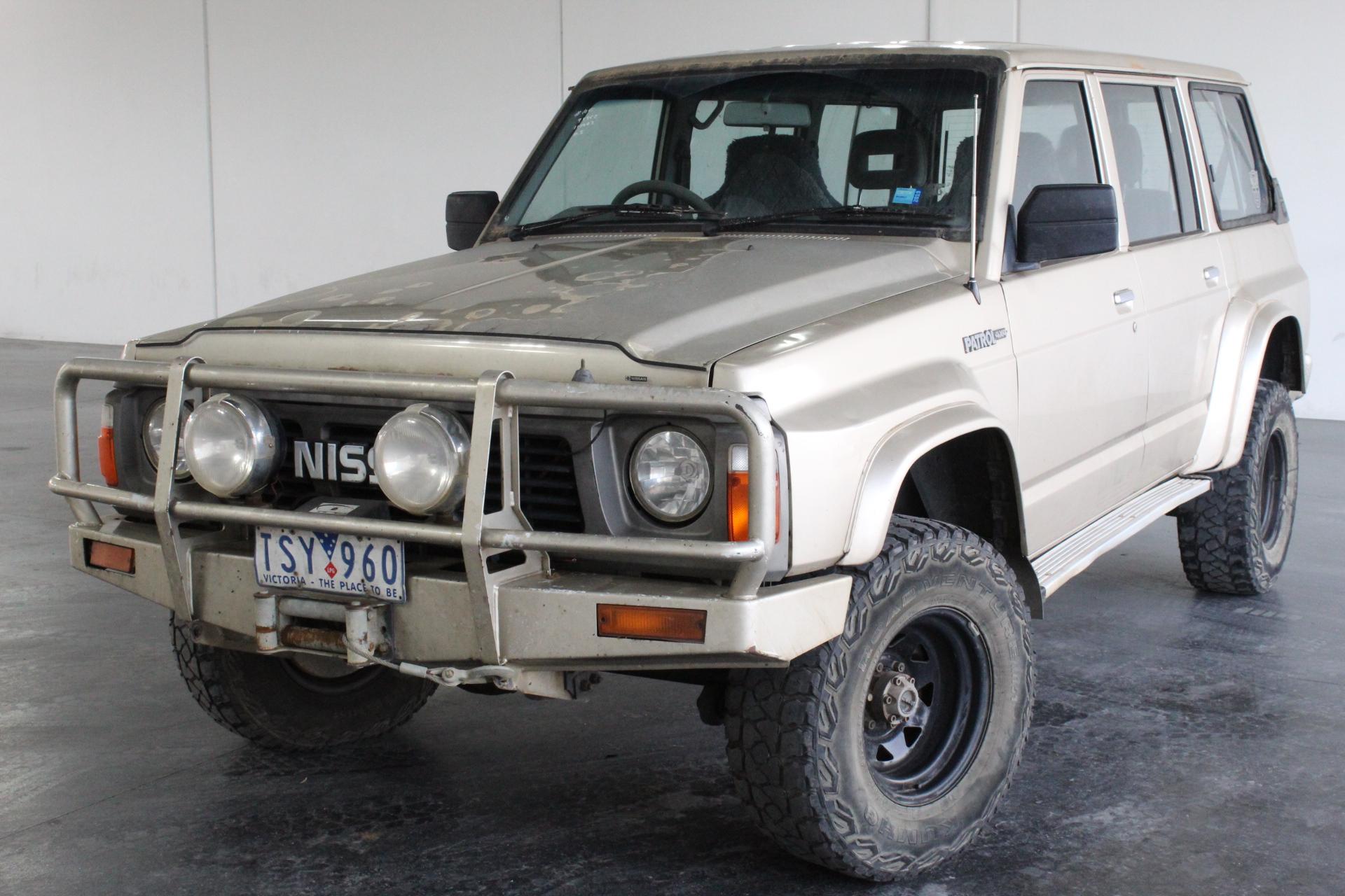 1991 Nissan Patrol Automatic 7 Seats 4WD