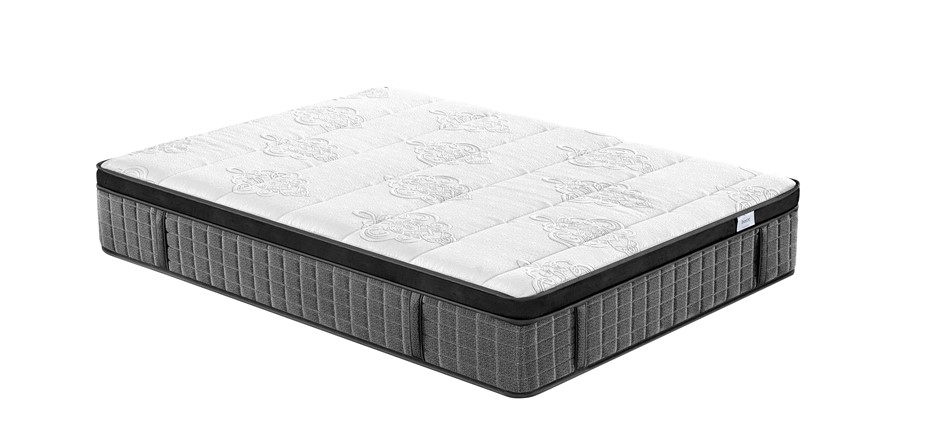 Breeze Double Supreme Cool Gel Infused Memory Foam Euro Top Mattress