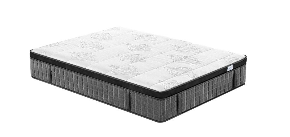Breeze Queen Supreme Cool Gel Infused Memory Foam 7 Zone Euro Top Mattress