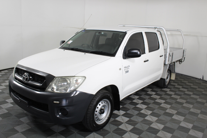 2011 Toyota Hilux Workmate TGN16R Dual Cab