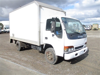 Unreserved Pantech Truck