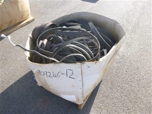 Pallet of Belts, Hosing and Other Rubber