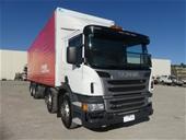 2 x 2014 Scania Prairie Wagon Trucks & Tandem Axle Trailers