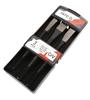 YATO 3pc Chisel Set Sizes: 10 x 142mm, 12 x 152mm, 16 x 172mm CrV Hex Head.