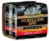 Rebellion Bay & Cola Can (24 x 375mL) Trinidad