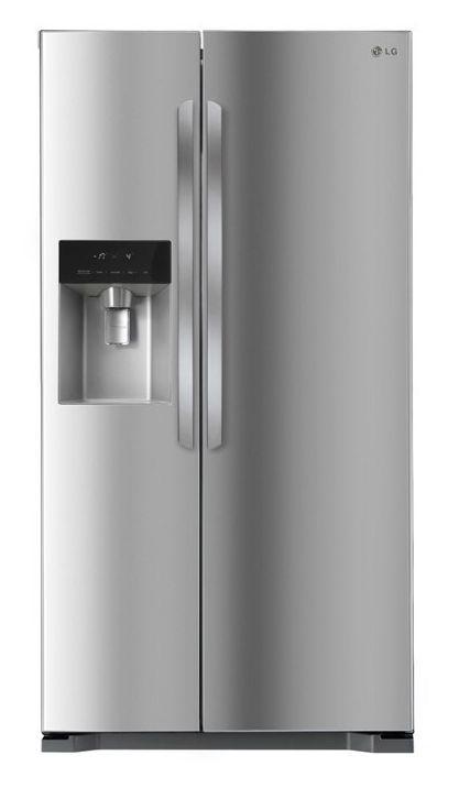 LG 563L Side By Side Refrigerator (Steel VCM)(GC-L197HPNL)
