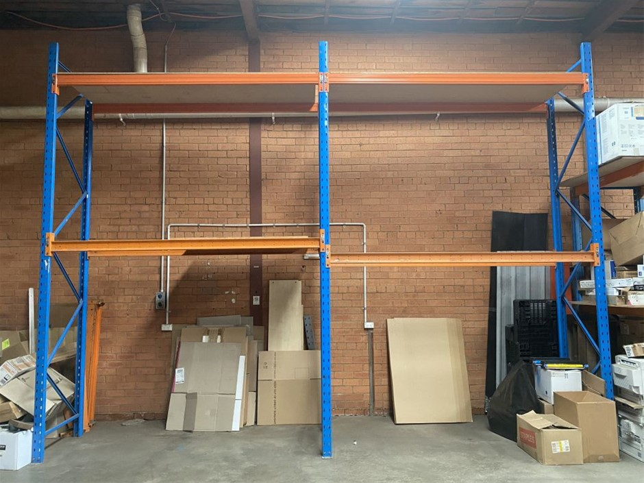 Pallet Racking 2 Bay System Used pallet racking 2 bay system