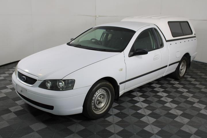 2004 Ford Falcon XL (LPG) BA MKII Automatic Ute, 120,100km