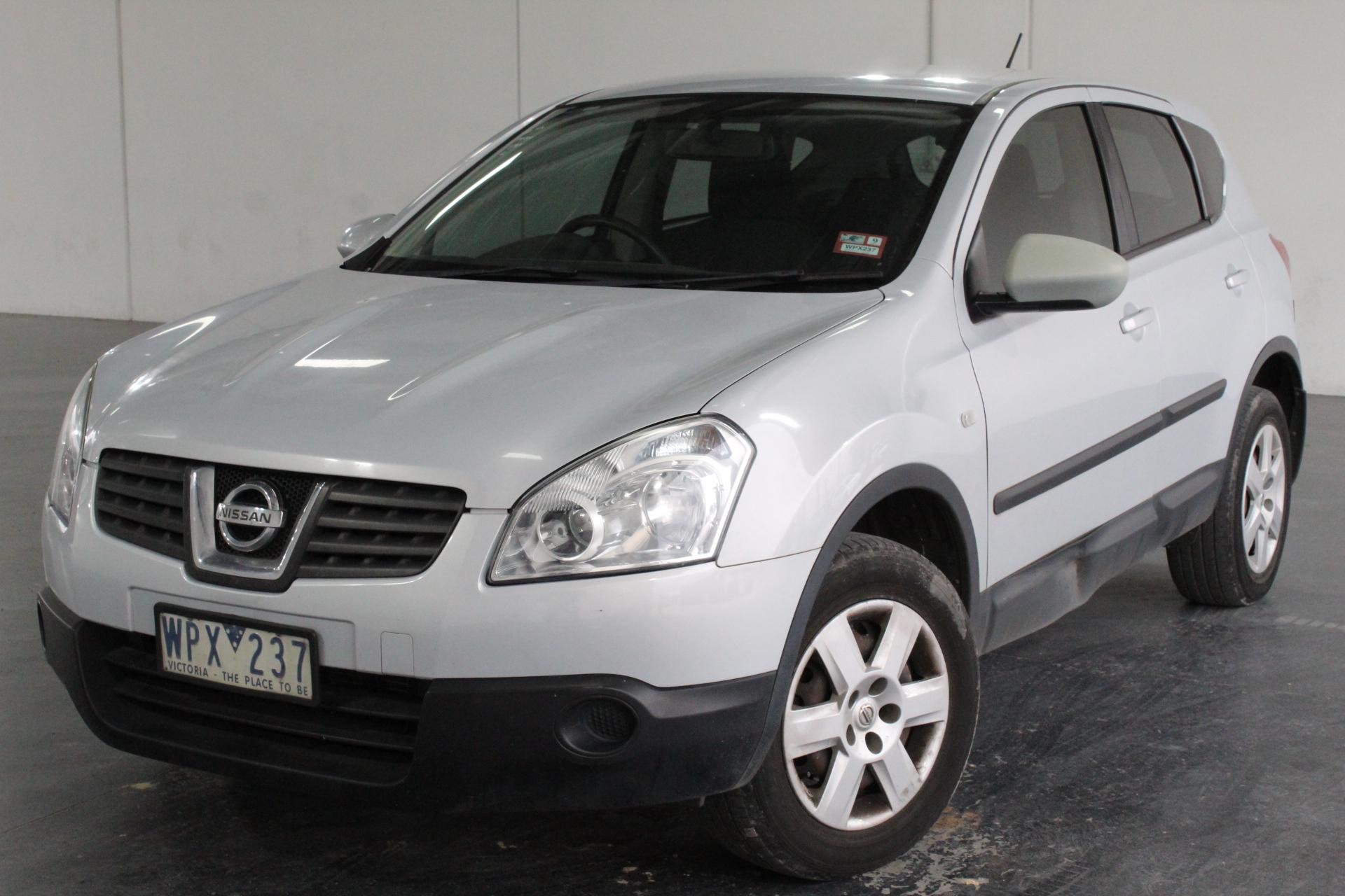 2008 Nissan Dualis ST (4x4) J10 CVT Wagon