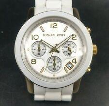 New Michael Kors Couture Ny 'Runway' Ceramic Chrono Watch