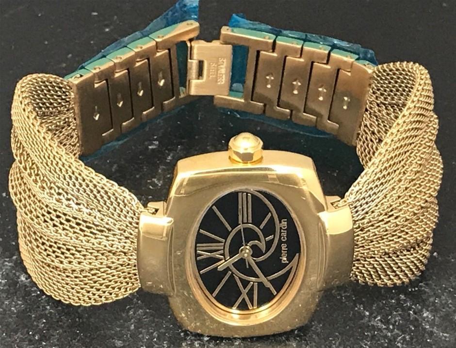Ladies Stunning Unworn Switzerland Pierre Cardin France Couture Watch