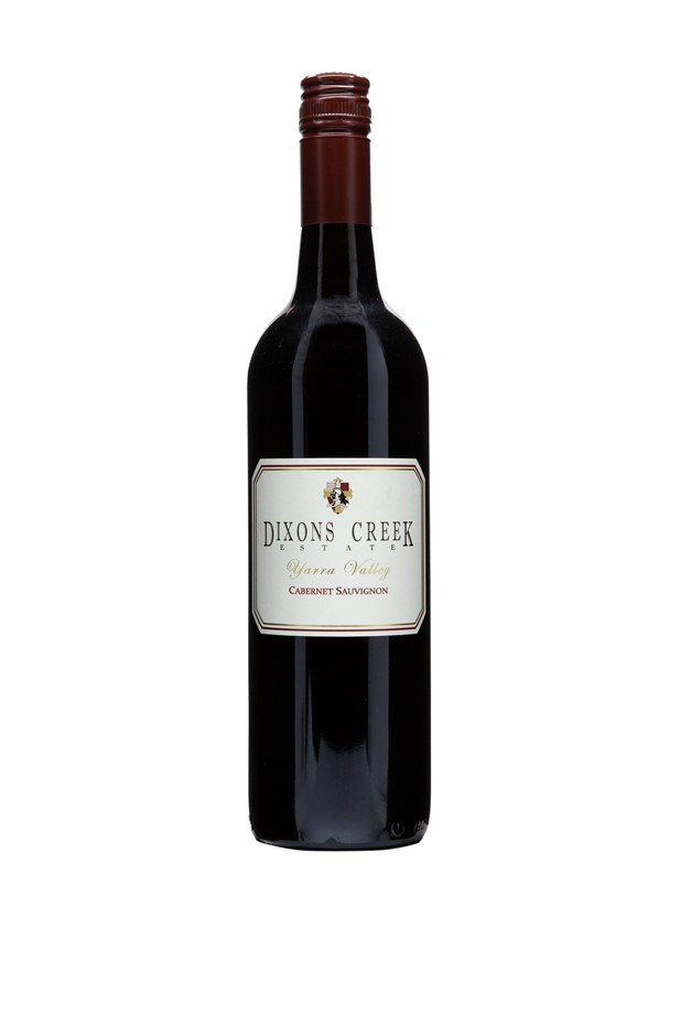 Dixons Creek Estate Cabernet Sauvignon 2014 (6x 750mL), Yarra Valley.