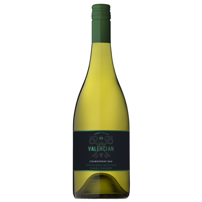 Valencian Chardonnay 2016 (12x 750mL), Yarra Valley.