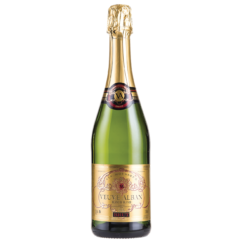 Veuve Alban Sparkling France NV (12x 750mL), France.