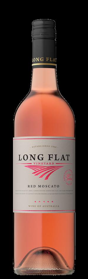 Long Flat Vineyard Red Moscato NV (12x 750mL), South Australia.