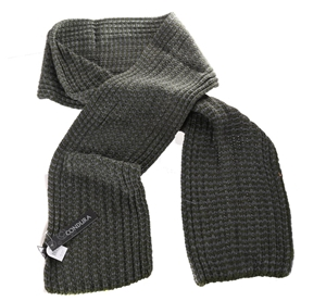 2 x CONDURA Knitted Scarf. Buyers Note -