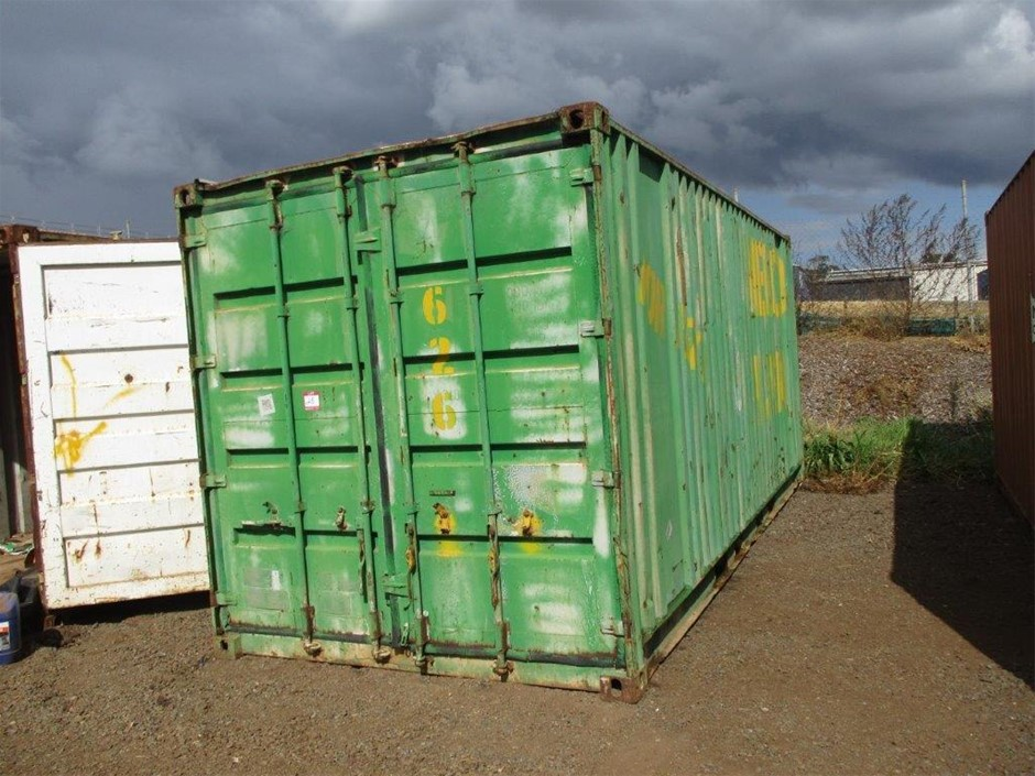 20 Foot Melco Shipping Container No. 352361 (Green)
