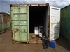 20 Foot Shipping Container No. 235565 (Green)