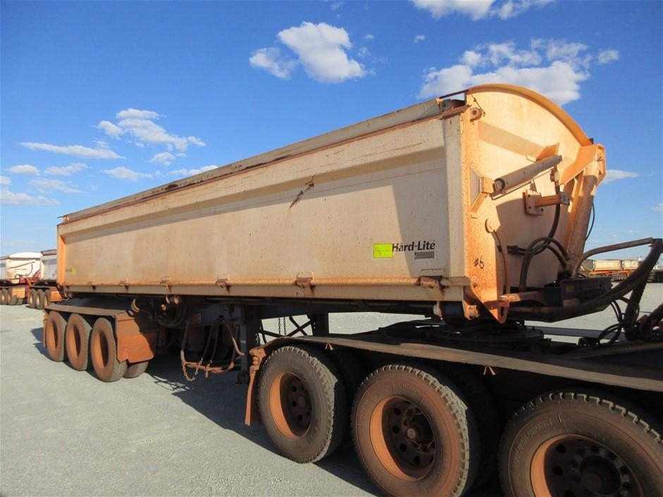2013 Road West Transport TRI350 Tri Axle Side Tipper 'B' Trailer