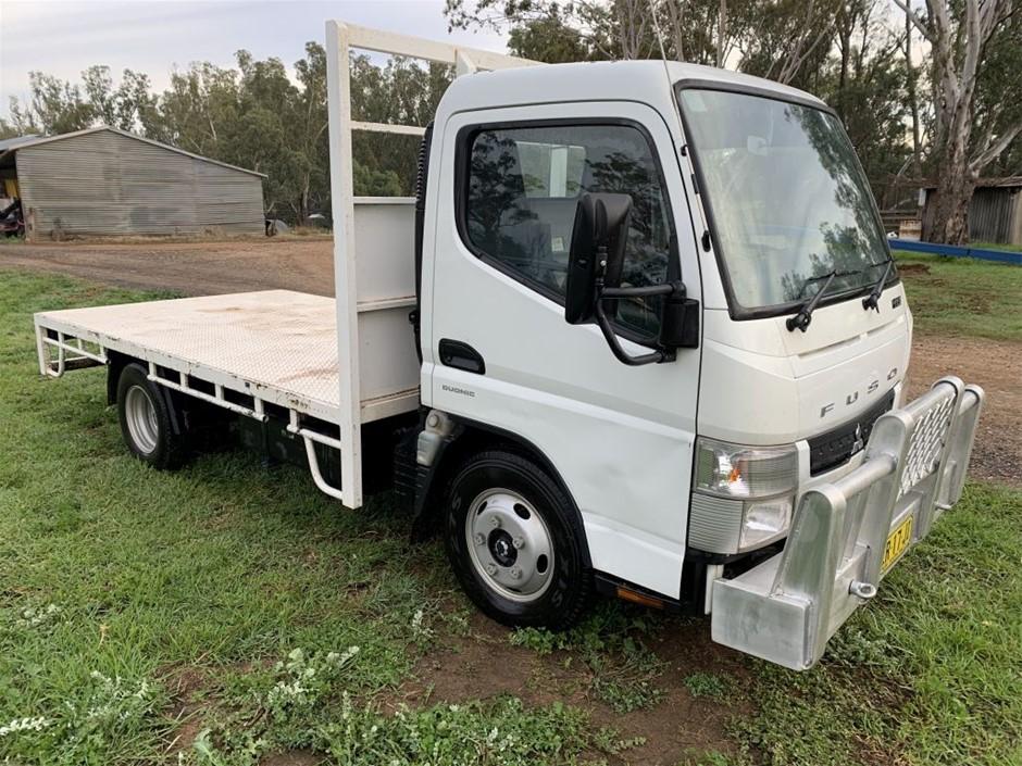 Mitsubishi Fuso 413 Duonic Flat Bed Truck