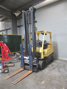 2014 Hyster S80FT 4 Wheel Counterbalance Forklift