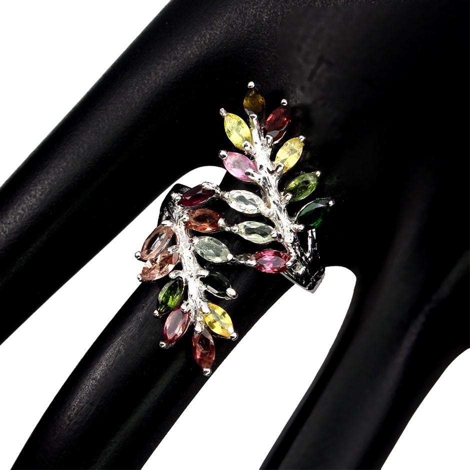 Beautiful Genuine Tourmaline Ring