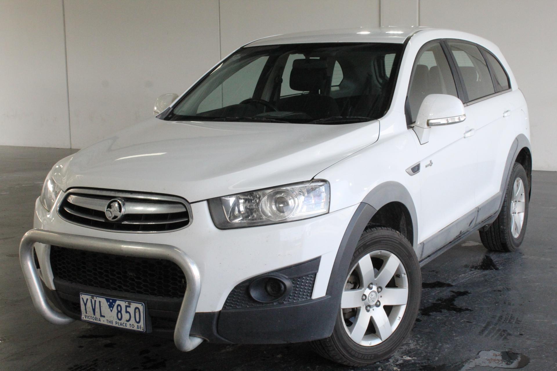 2012 Holden Captiva 7 SX 2WD CG II Automatic 7 Seats Wagon