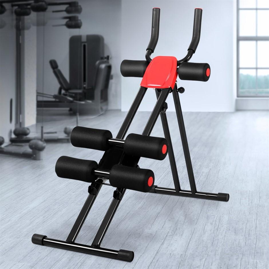 Fitness Abdominal Waist Trainer Cardio Machine Body Shaper Sit Up Bench
