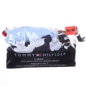 TOMMY HILFIGER 3pk Men`s Boxer Briefs, S