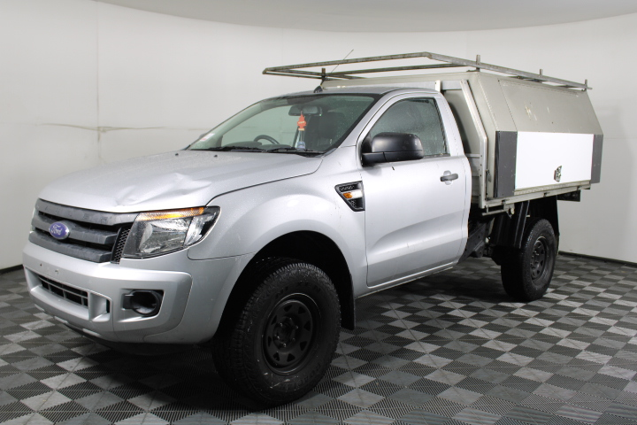 2013 Ford Ranger XL Hi-Rider Turbo Diesel Cab Chassis