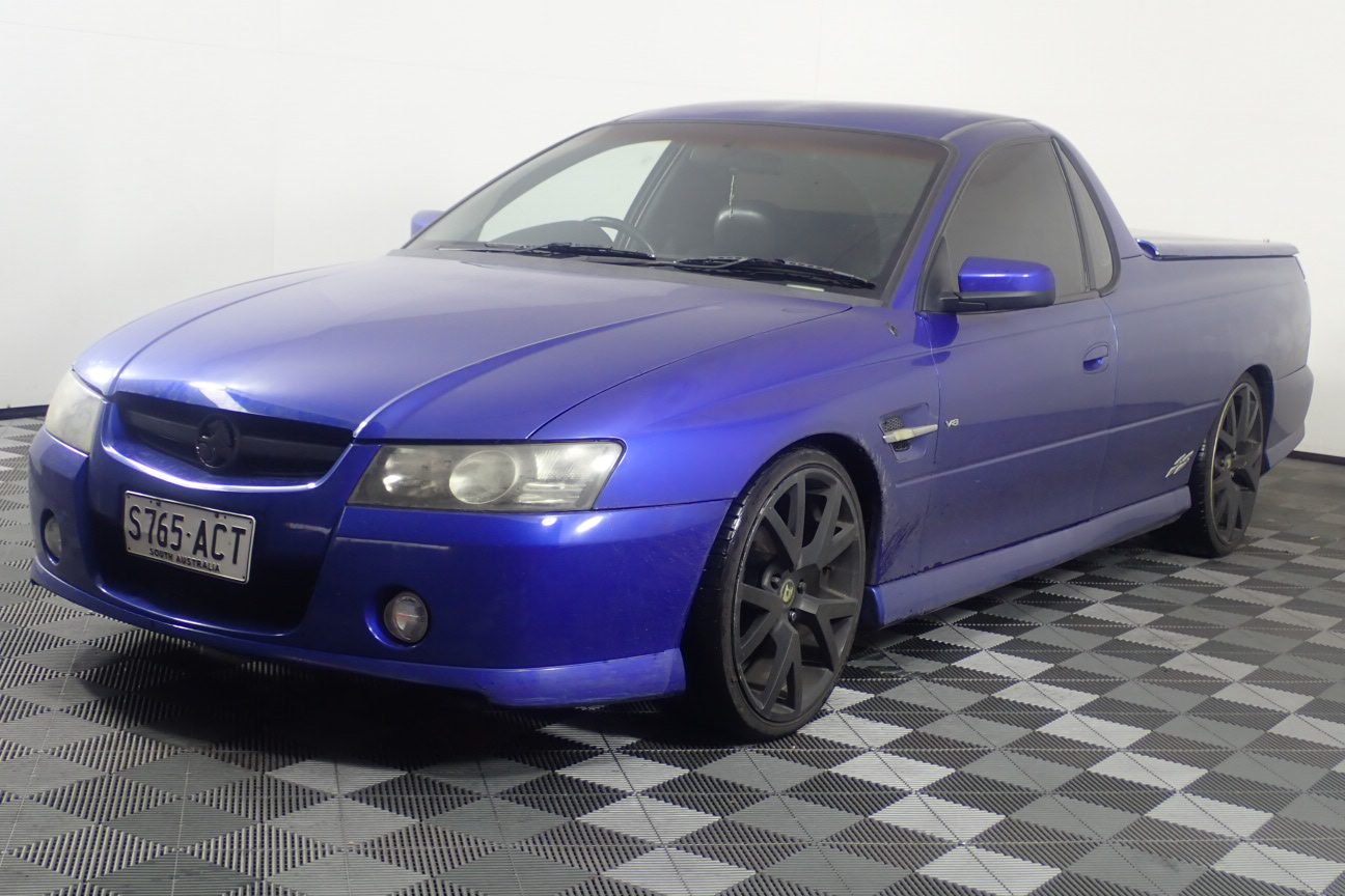 2004 Holden Commodore SS VZ Manual Ute