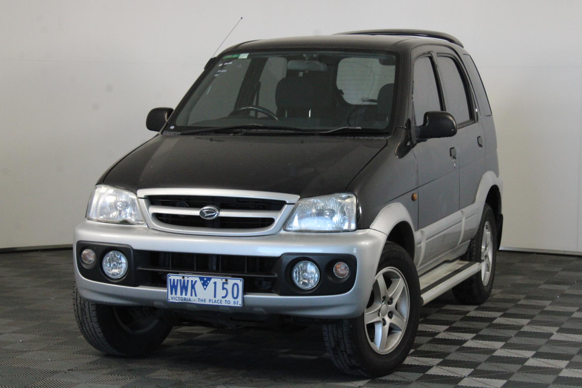 2005 Daihatsu Terios DX (4x4) J102 Manual Wagon