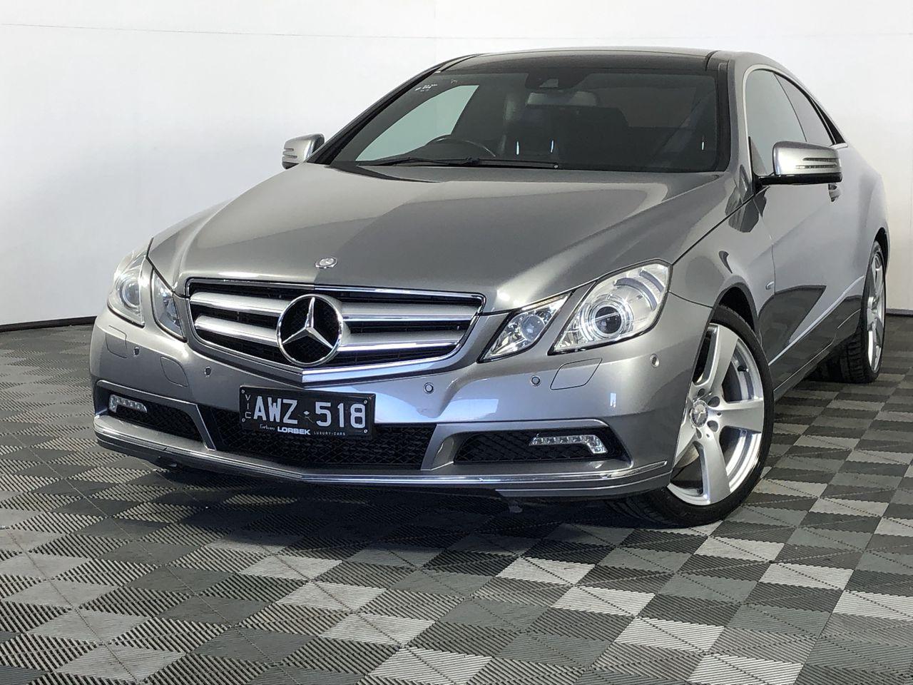 2010 Mercedes Benz E250 CDI Elegance C207 Turbo Diesel Automatic Coupe