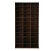 Artiss Adjustable Book Storage Shelf Rack Unit - Expresso