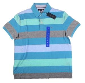 TOMMY HILFIGER Men`s Kelson Stripe Polo
