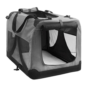 Buy i.Pet Extra Large Portable Soft Pet Carrier- Grey  209496e6a0f4