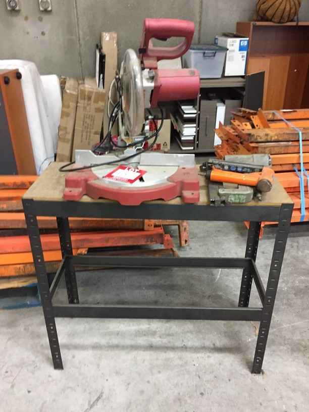 Powered & Pneumatic Tools Including: 1x Xceed Drop Saw, Model: