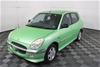 2000 Daihatsu Sirion GTVI Hatchback