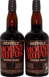 Seppelt Mount Rufus Tawny Port NV (2x 1PT 6FL OZ), SA. Cork.