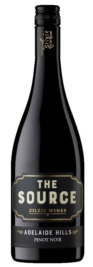 Zilzie The Source Pinot Noir 2019 (12 x 750mL) Adelaide Hills, SA